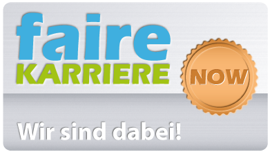 Faire-Karriere NOW Siegel