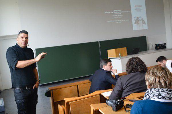 Vincent Hendricks von der Universität Kopenhagen auf der GOR16