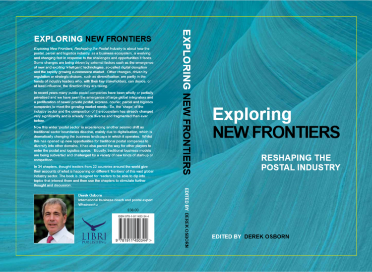 Cover of Exploring New Frontiers by Derek Osborn