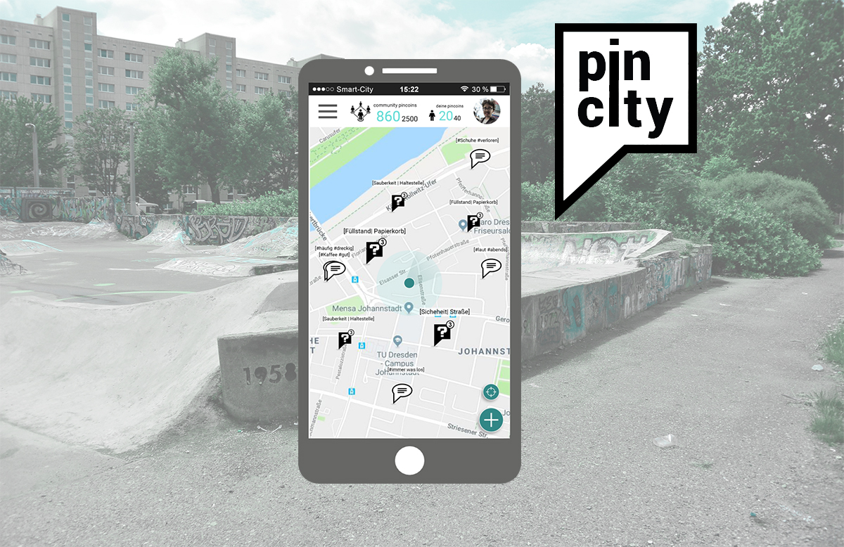 City planning next generation: Give citizens a voice with the PinCity App