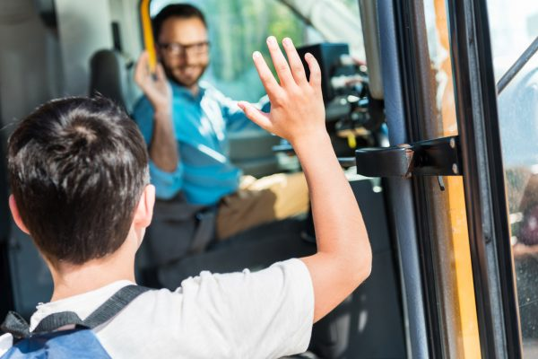 Friendly bus driver as example for service quality management for mass transit