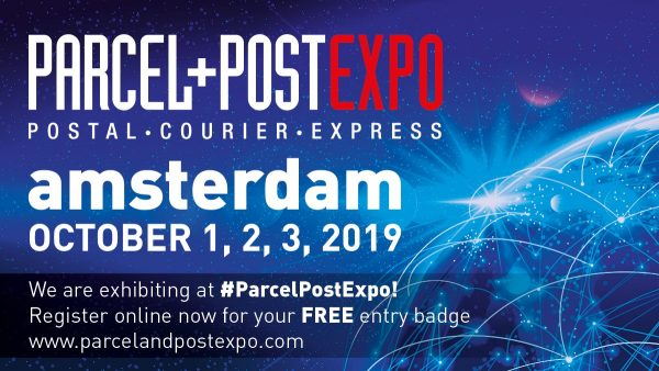 We are at Parcel+PostExpo 2019 with a Kizy presentation and as a participant of the startup competition