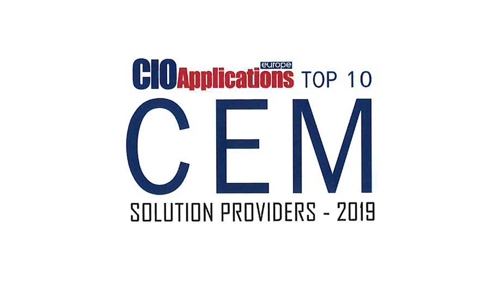 Spectos ranked TOP 10 CEM Solution Provider 2019