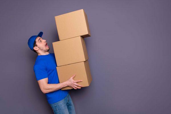 Paketzustellung auf der letzten Meile im E-commerce