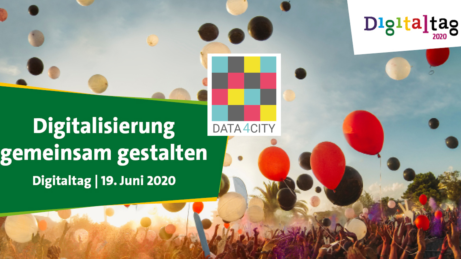 Digitaltag 2020: Wie Data4City #digitalesmiteinander fördert