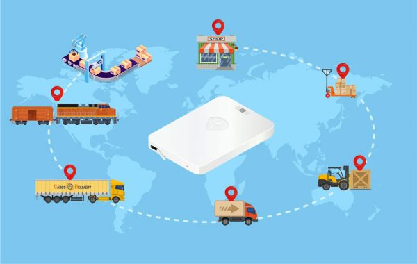 tracker management for supply chain